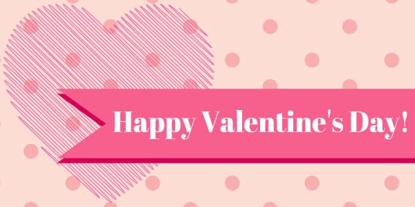 Valentines Yard U0026 Lawn Signs: Happy Valentines Day Ribbons