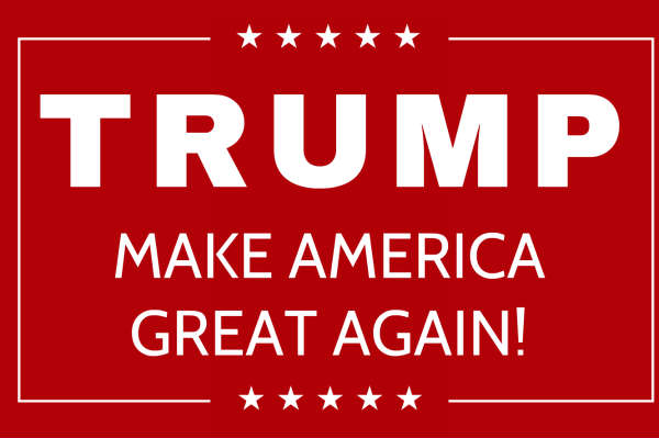 image relating to Printable Trump Sign referred to as Automobile Truck Magnets for Donald-trump -