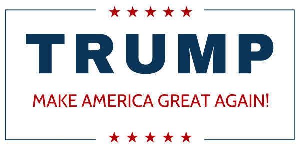 graphic about Printable Trump Sign titled Back garden Yard Signs and symptoms for Donald-trump -