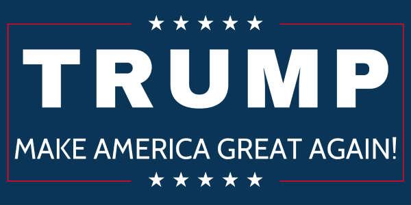 Trump 3x5 Foot Flag 2016 Make America Great Again Donald ...