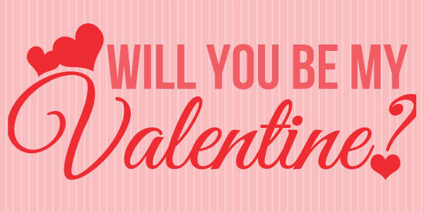 Valentines Yard U0026 Lawn Signs: Will You Be My ...